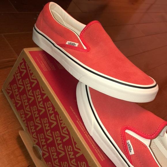 0d5b2b6070 Hibiscus Suede Vans!!!! 🌺🌺🌺